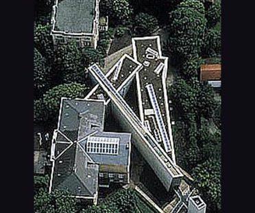 Museo Felix Nussbaum, Osnabrück, Germania, 1994. Daniel Libeskind