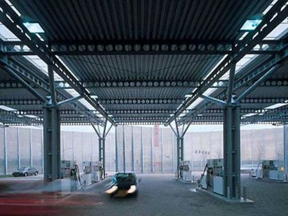 Samyn and Partners,<br> Stazione di servizio di Houten, Olanda