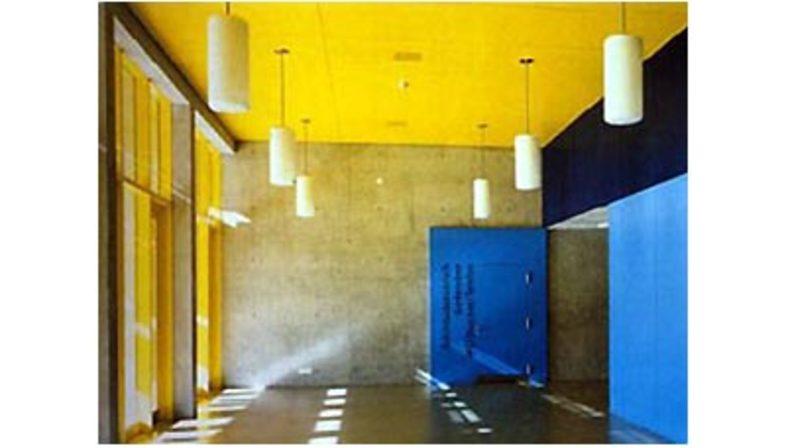 Gigon-Guyer: centro sportivo a Davos, Svizzera