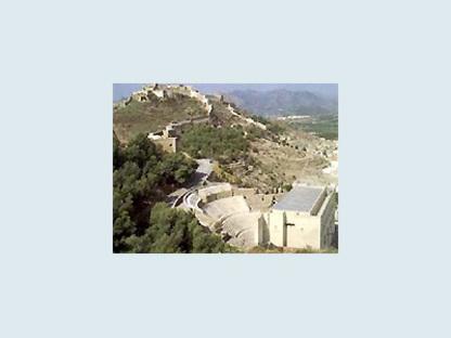 Ristrutturazione del Teatro Romano di Sagunto, Spagna, 1985-1993