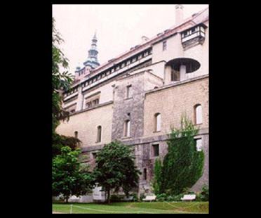 Borek S&iacute;pek<br>La nuova Galleria d'arte del Castello di Praga, 1996