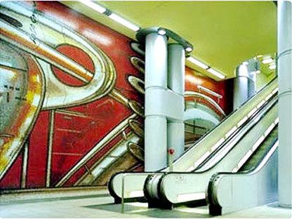Massimo Iosa Ghini<br>Stazione di Hannover