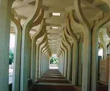Centro di cultura islamica e moschea, Roma<br> Paolo Portoghesi