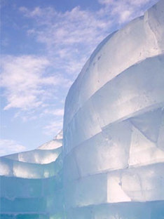 Zaha Hadid e Cai Guo-Quiang<br> The Snow Show 2004