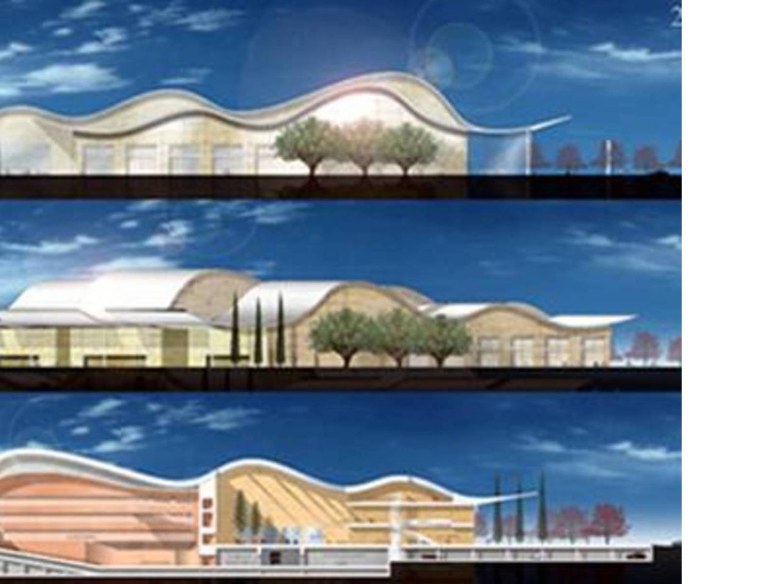 Ricardo Bofill: Villa Cultural de PradoValladolid, in costruzione