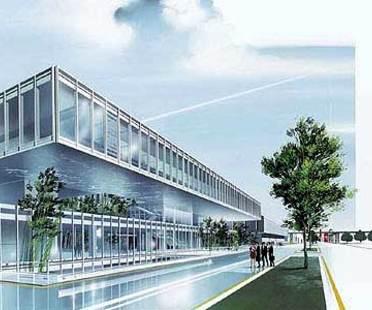 Maranello, due Nuovi edifici per la Ferrari.<br> Fuksas e Visconti, 2004