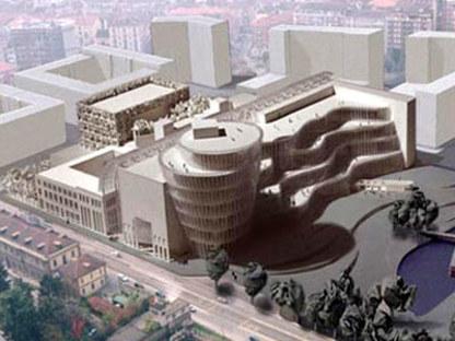 Biblioteca Civica Torino <br>Mario Bellini