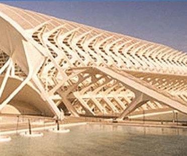 Museo della scienza, Valencia.<br> Santiago Calatrava