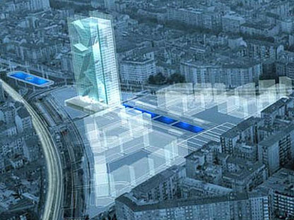Torino. Nuova sede della Regione Piemonte. Massimiliano Fuksas