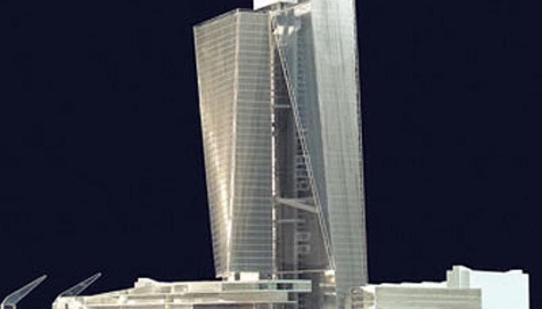 Coop Himmelb(l)au, Nuova sede della BCE. Francoforte.