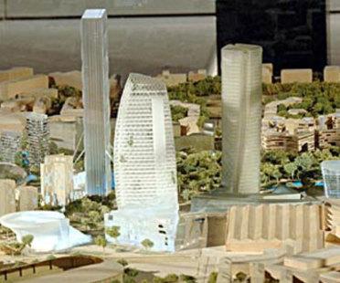 Milano. Ex fiera campionaria, City Life. Libeskind, Hadid, Isozaki, Maggiora. 2004