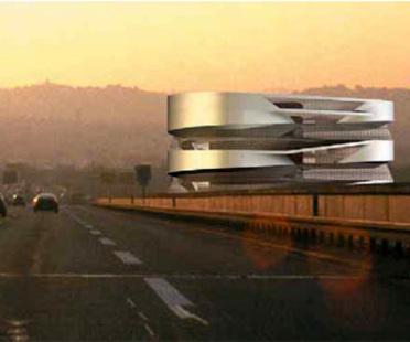 Mercedes-Benz Museum a Stoccarda.<br> UN Studio