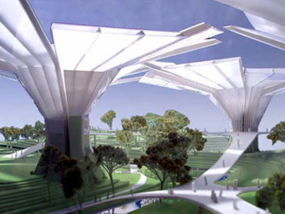 Senscity Paradise Universe. Las Vegas. Behnisch & Partner