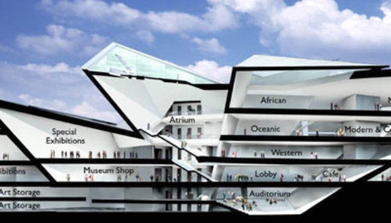 Denver (Colorado). Denver Art Museum Daniel Libeskind. 2005