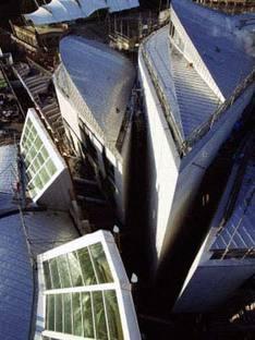 Edimburgo, Parlamento scozzese. Miralles y Tagliabue 2004
