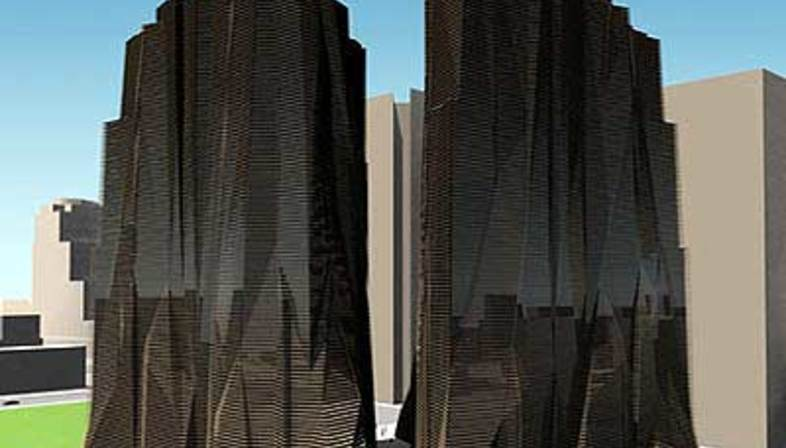 Emilio Ambasz, Monument Tower. Phoenix (Arizona). 1998