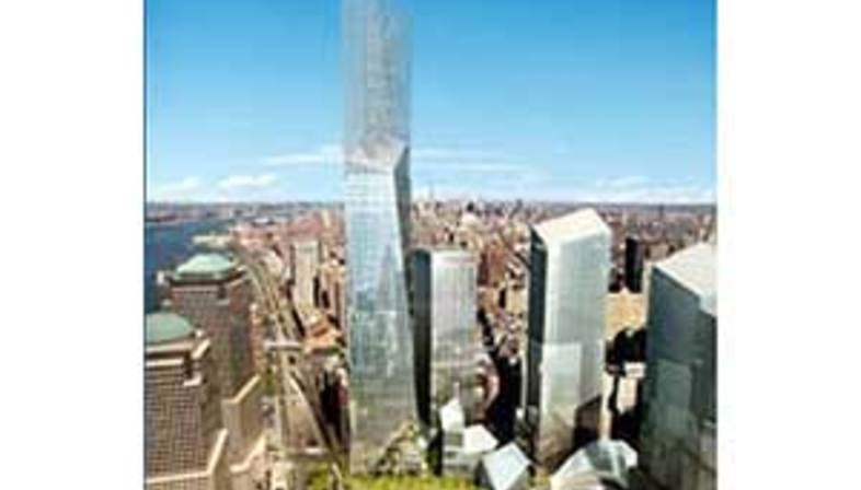 New York, Freedom Tower.<br> Daniel Libeskind e David Childs. 2005
