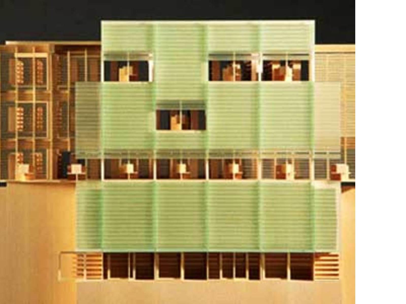 Biblioteca Nazionale del Quebec.<br> Patkau Architects e Croft-Pelletier. Montreal. 2005