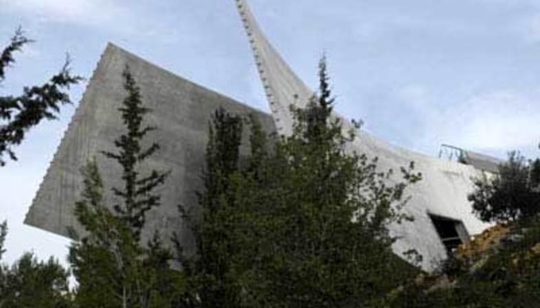 New Holocaust History Museum a Yad Vashem, Moshe Safdie