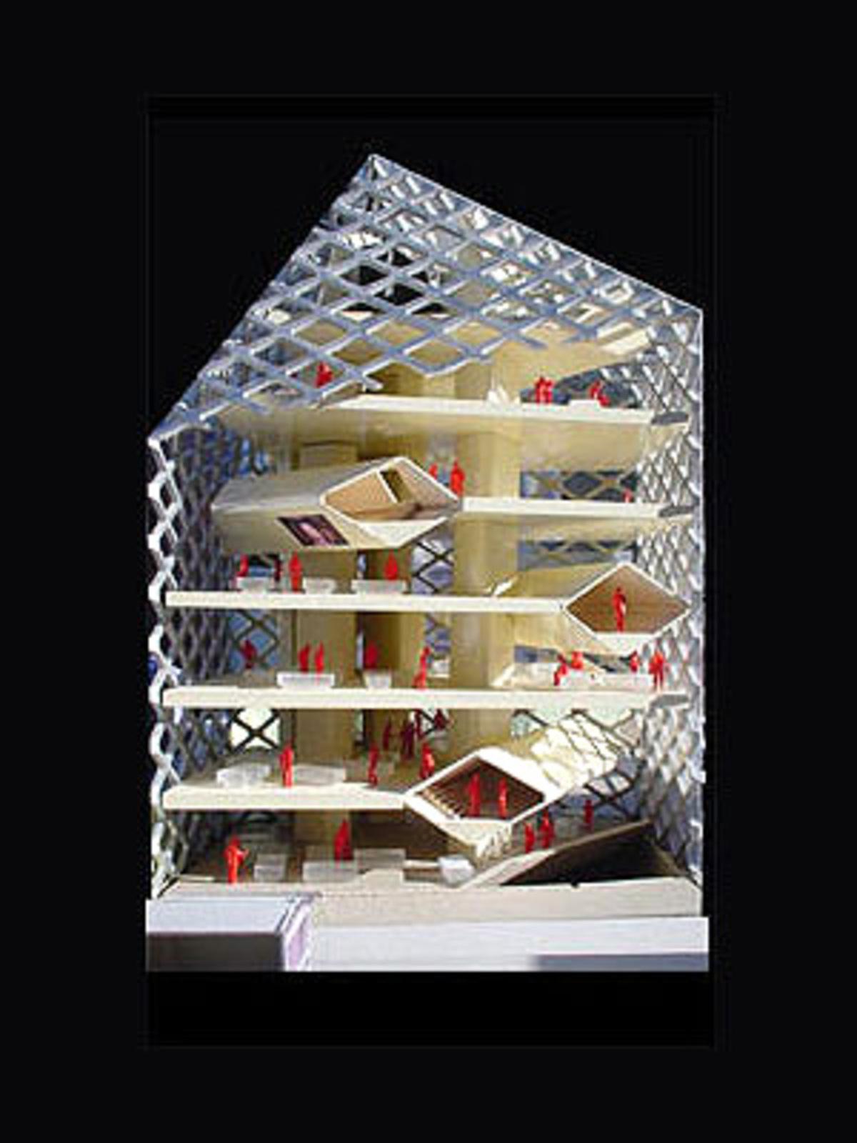 Epicentro Prada A Tokyo Herzog Amp De Meuron 2003 Floornature