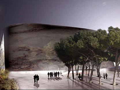 Venezia. Nuovo Palazzo del Cinema<br> 5+1 e Rudy Ricciotti. 2005