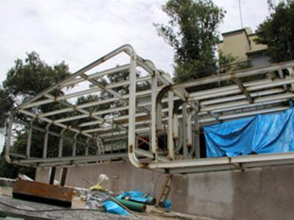 Tecamachalco (Città del Messico). Depandace Rossa. Michel Rojkind. 2003