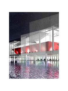 Olympic Tennis Stadium<br> Dominique Perrault. Madrid. 2002