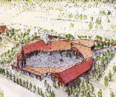 Centro Parrocchiale Santa Maria in Zivido. San Giuliano Milanese (Mi). Gabetti & Isola.<br />