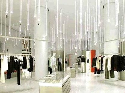 Shanghai. Emporio Armani<br> Massimiliano e Doriana Fuksas. 2004