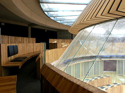 National Assembly for Wales<br /> Richard Rogers Partnership Cardiff, under construction