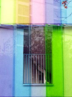 Creche Lauzin (asilo nido)<br> Studio Davar Panah-Sarre. Parigi. 2005