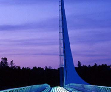 Sundial Bridge. Redding (California). Santiago Calatrava. 2004