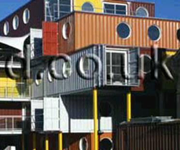 Container City. Nicholas Lacey & Pratner. Londra. 2002