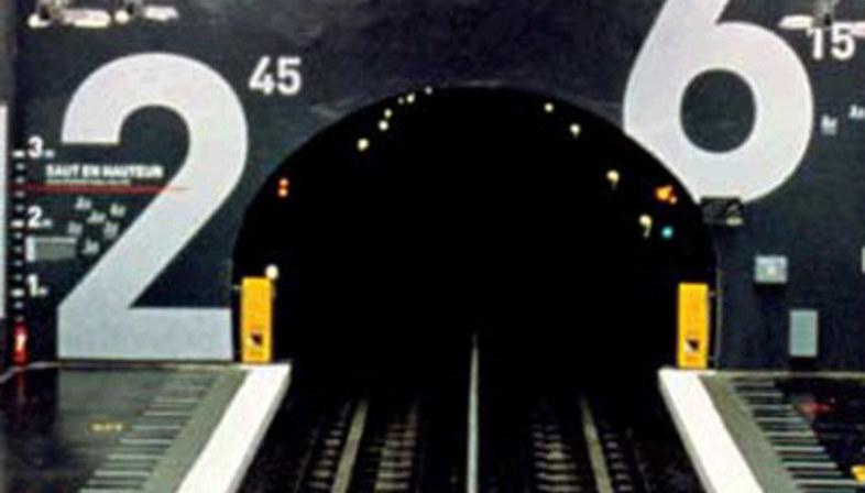 Stazione della metropolitana Villejuif Léo Lagrange, Mario Cucinella.<br /> Parigi, Francia. 2000
