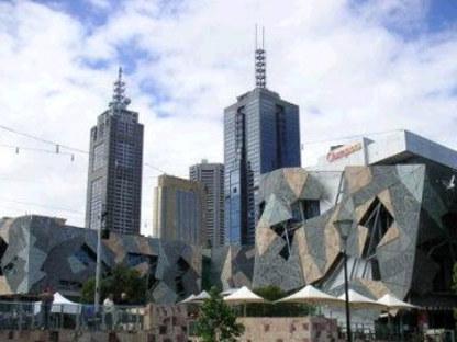 Federation Square, Lab Architecture.<br /> Melbourne, Australia. 2002