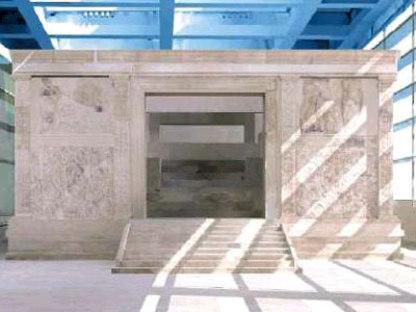 Museo dell'Ara Pacis. Richard Meier. Roma. 2006