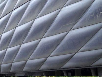 Stadio Allianz Arena. Herzog & de Meuron. Monaco. 2006