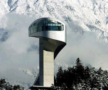 Trampolino da salto, Zaha Hadid. Monte Bergisel (Austria). 2002