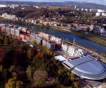 Renzo Piano. Lione. Centro Congressi della Cité internationale. 2006