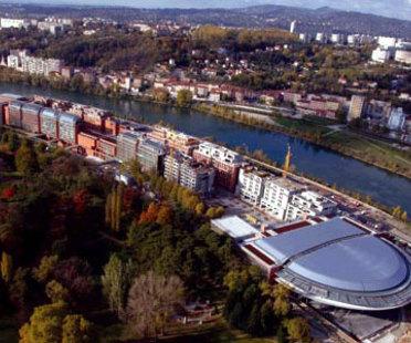 Renzo Piano. Lione. Centro Congressi della Cité internationale. 2006