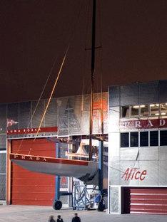 Renzo Piano. Base Luna Rossa. Valencia, 2006