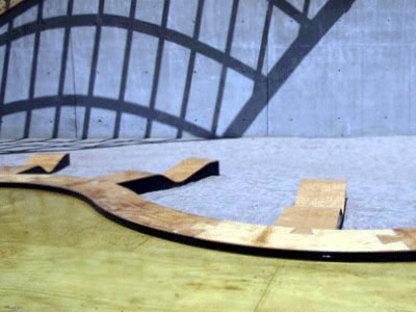Obra Architects, Padiglione temporaneo del PS 1. New York. 2006