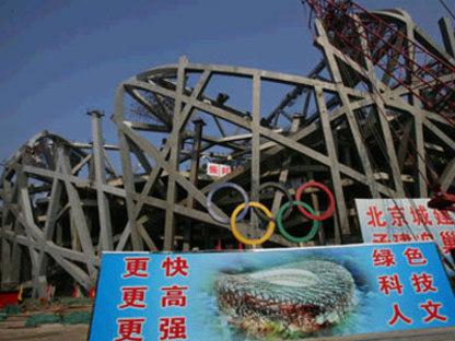 Stadio olimpico. Pechino. Herzog e de Meuron. 2006