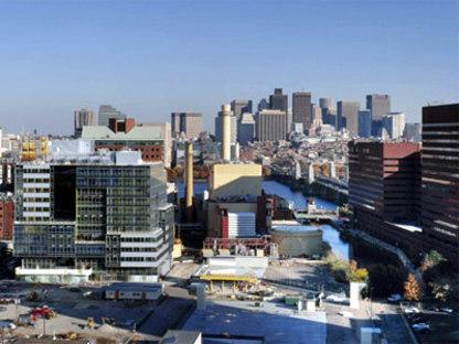 Genzyme Center, Boston, 2003. Behnisch Architects