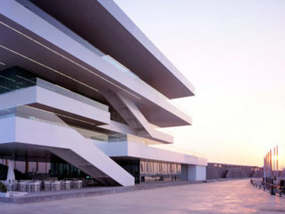 Veles e Vents. Valencia. David Chipperfield e b720 Arquitectos. 2006