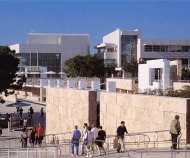 The Getty Center e The J. Paul Getty Museum, Richard Meier