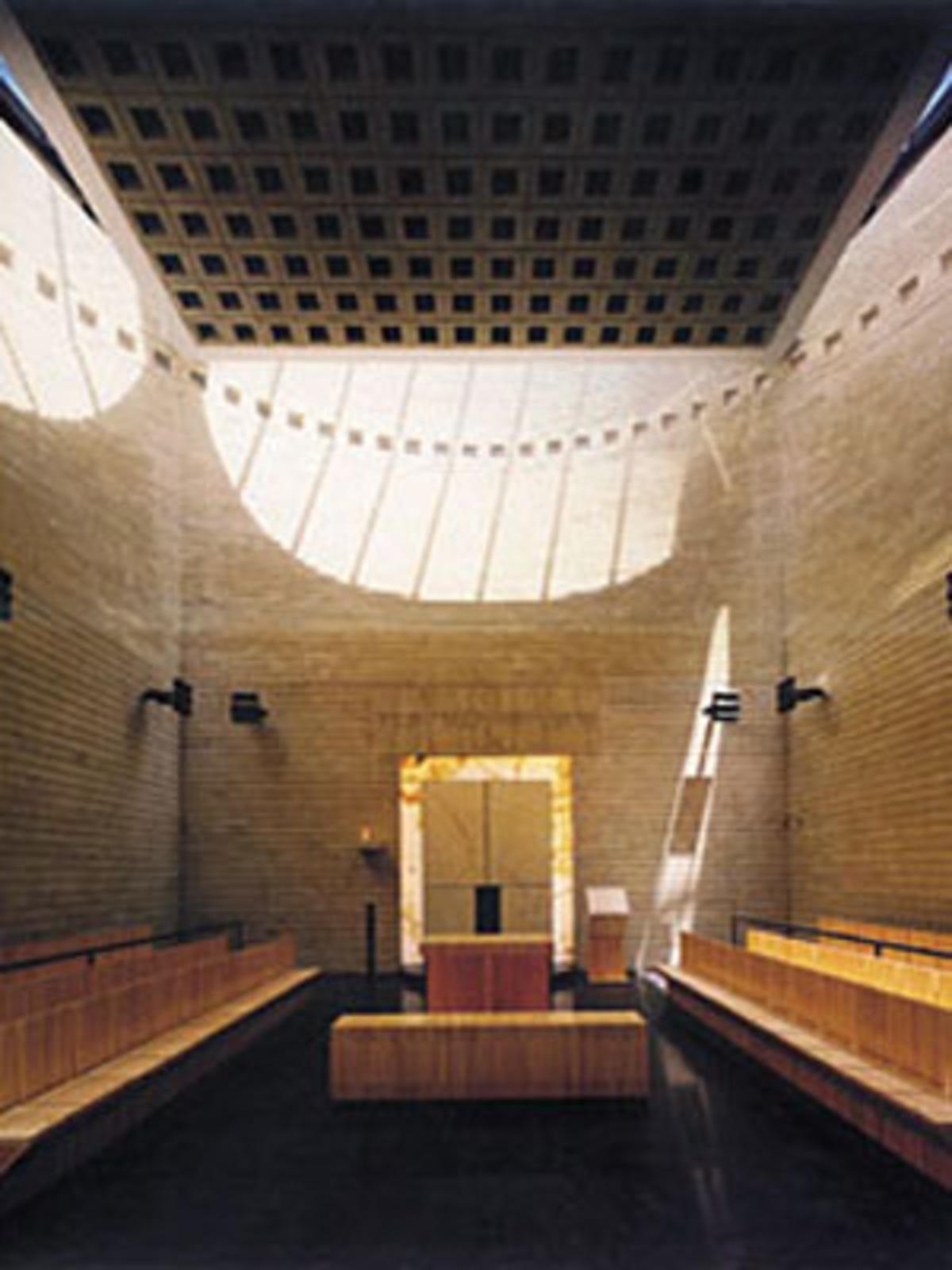 Sinagoga e Centro della eredità ebraica Cymbalista, Mario Botta