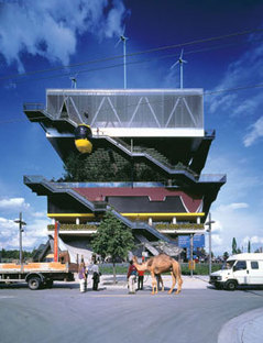Dutch Pavilion. Hannover. MVRDV. 2000