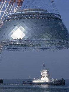 Paul Andreu. Museo Marittimo di Osaka. 2001