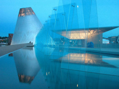 Museum of Glass - Arthur Erickson Architects. Tracoma, 2002